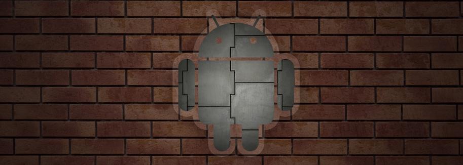 Андроид кирпич