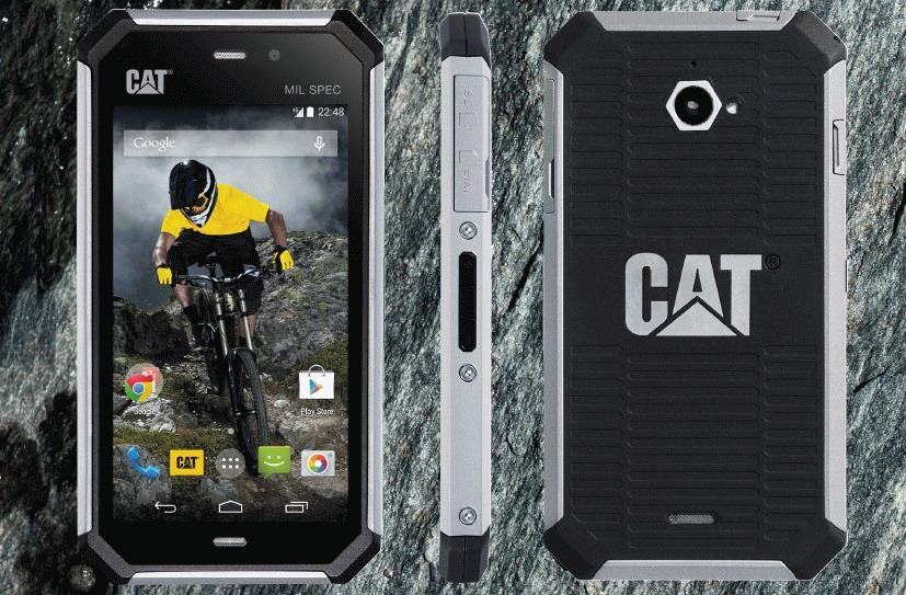 Cat S50 - надежный смартфон