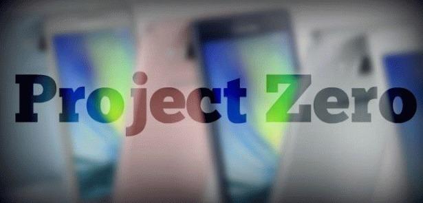 «Project Zero» смартфон