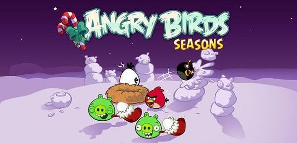 Сражения Angry Birds под новогоднюю музыку