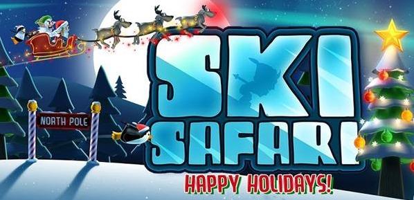 Соревнования на снегоходах, лыжах и санях в веселых новогодних костюмах