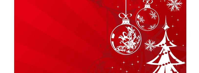 Стильные заставки на новогоднюю тематику