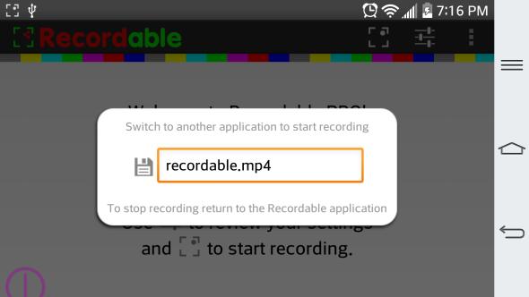 как сделать захват экрана на android