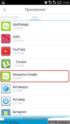 Службы гугл