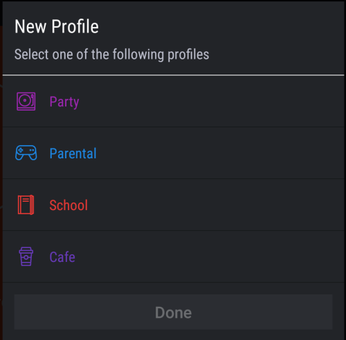 Создание дополнительных профилей в Hexlock