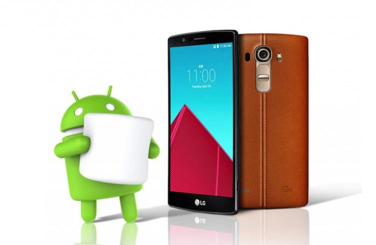 LG G4 первым получит Android 6.0 Marshmallow