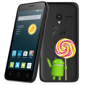 Lollipop прошивка для Alcatel One Touch PIXI 3 4027D