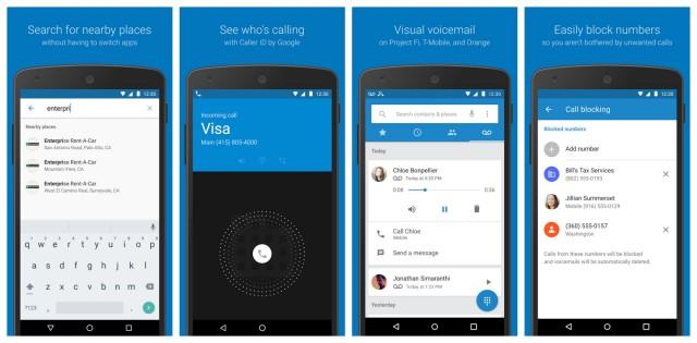 Google Dialer доступен для всех смартфонов