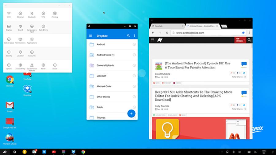 Remix OS теперь без Google сервисов