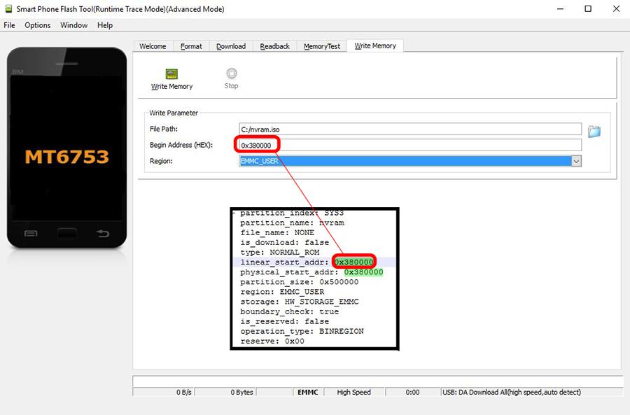 Бекап и восстановление IMEI с помощью SP Flash Tool