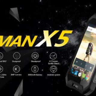 IMan X5 — самый дешевый в мире IP67 защищенный телефон