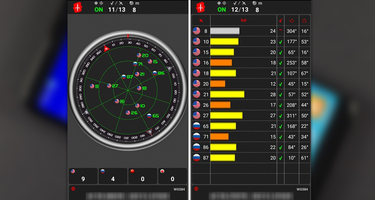 GPS тест Bluboo S8