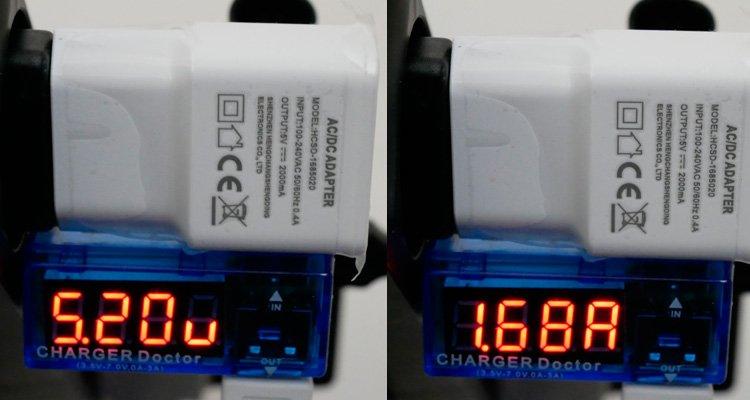 параметры зарядки Bluboo S8