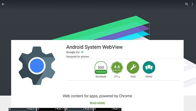 Android System WebView что это