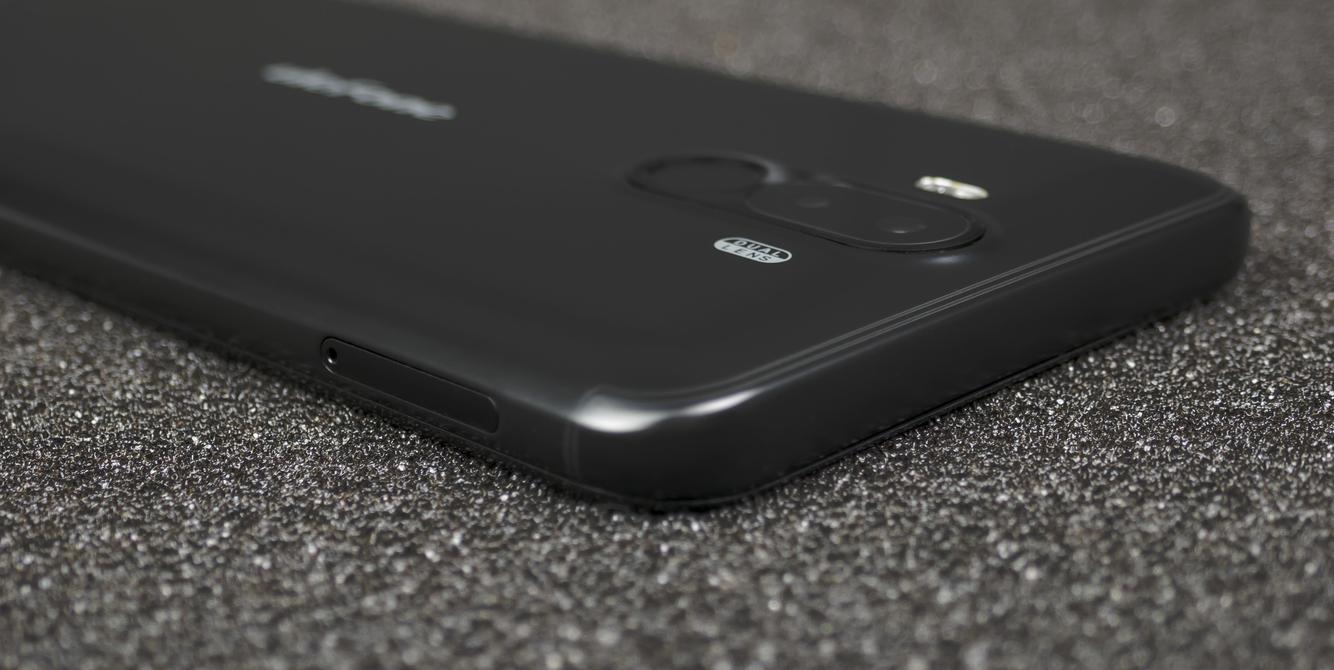 Левая грань Ulefone Power 3S
