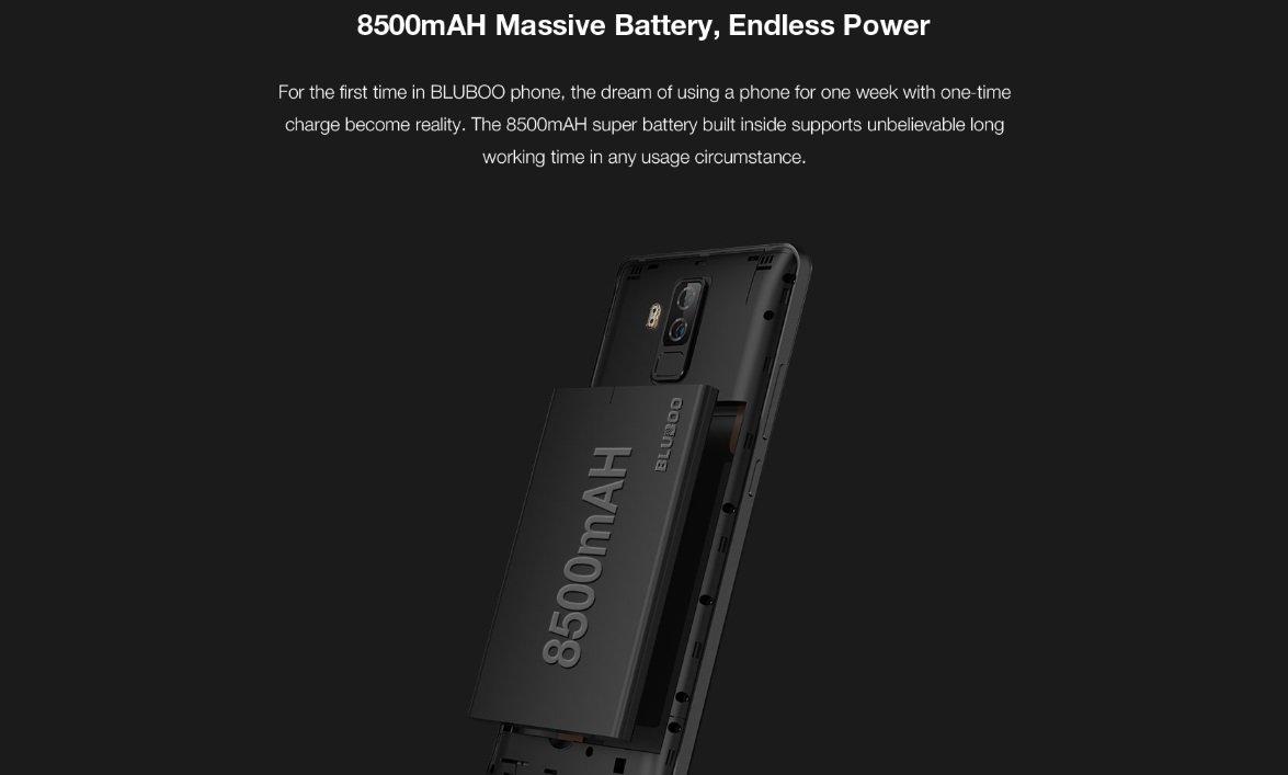 батарея bluboo s3