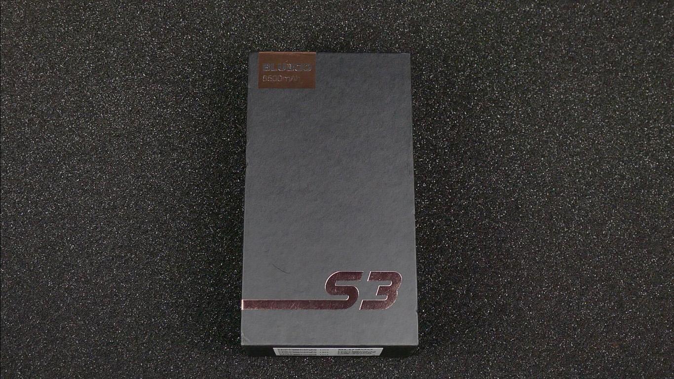 коробка Bluboo S3
