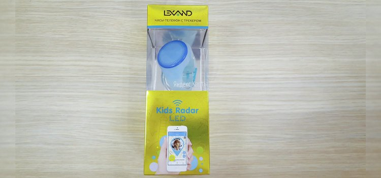 Упаковка Lexand Kids Radar LED
