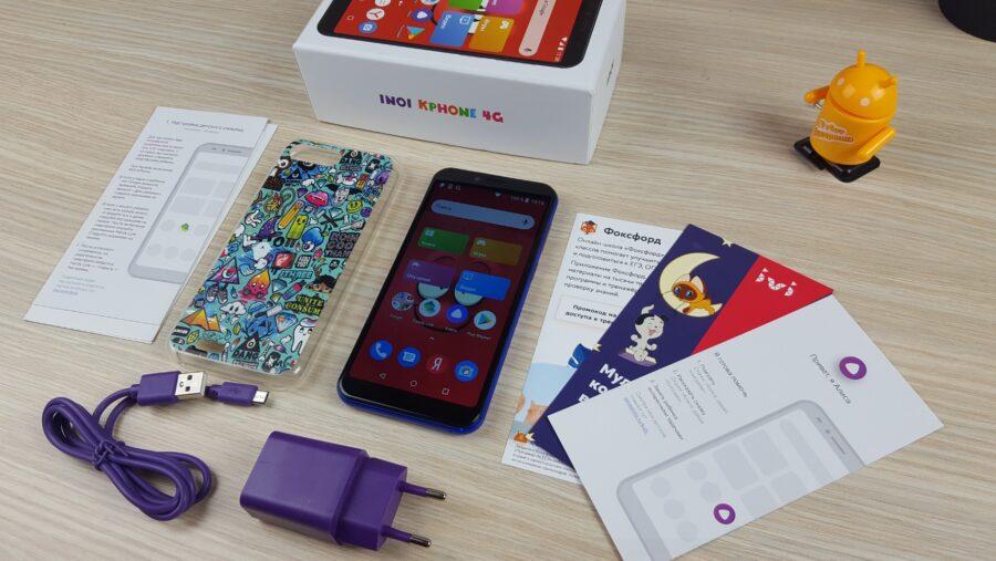 комплектация INOI kPhone 4G