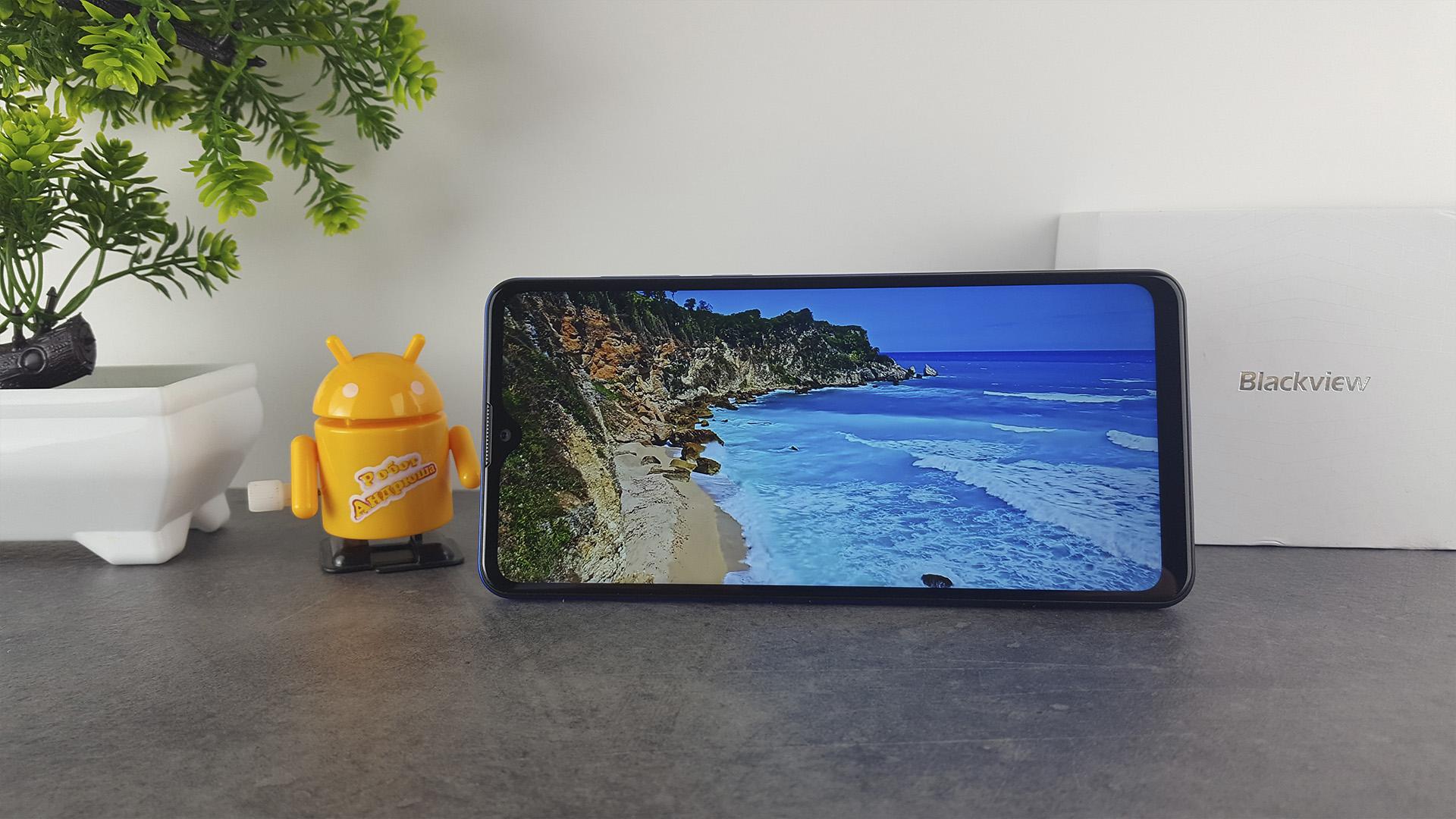 Обзор blackview A80 Pro - экран2