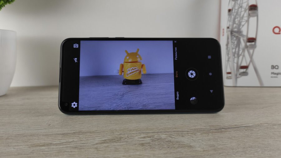 BQ Magic O интерфейс камеры