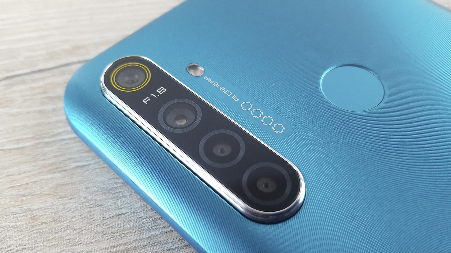 Обзор Realme 5i камера модуль камер 12 МП SONY IMX 386