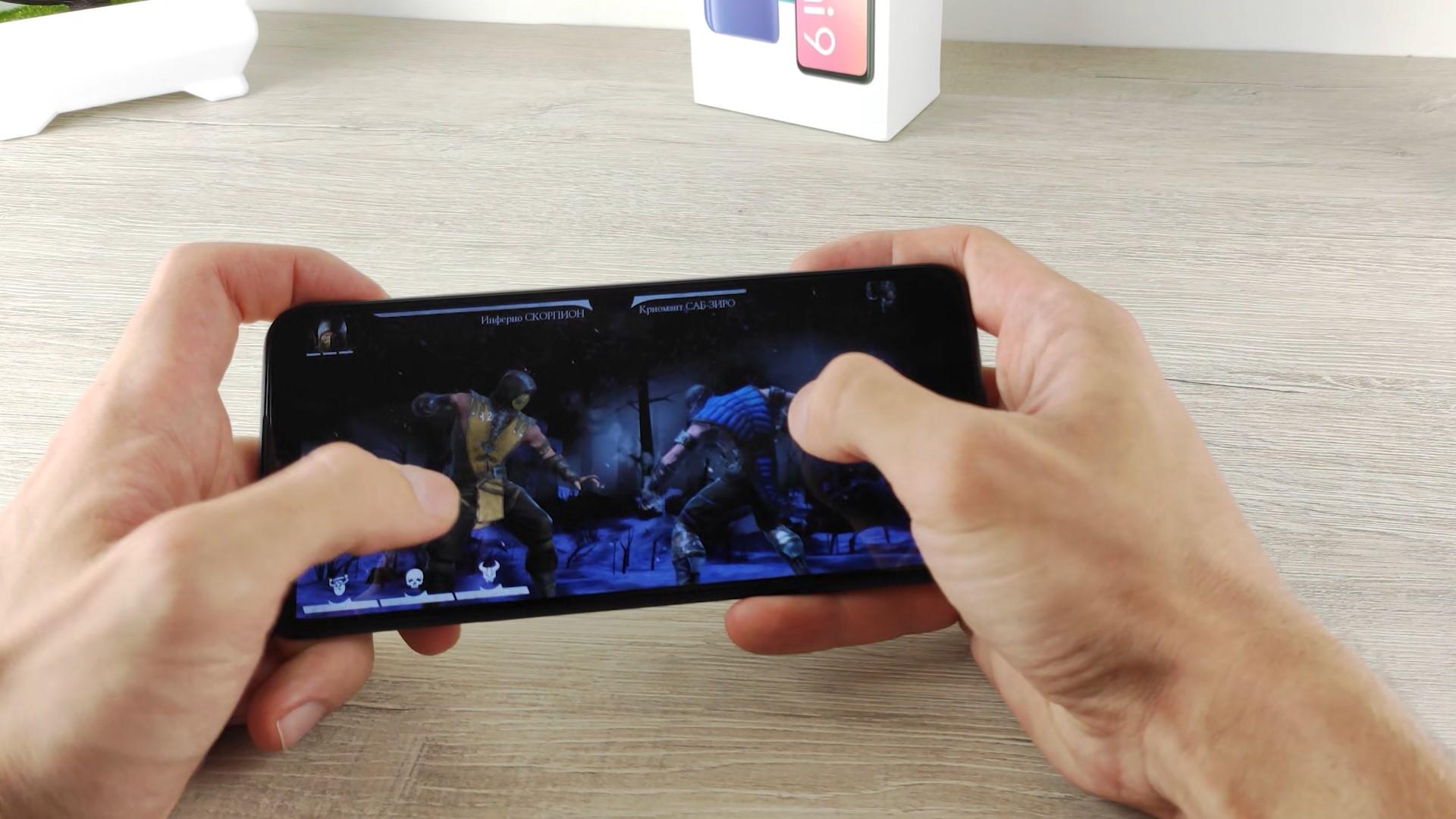 MK Mortal Kombat на Redmi 9