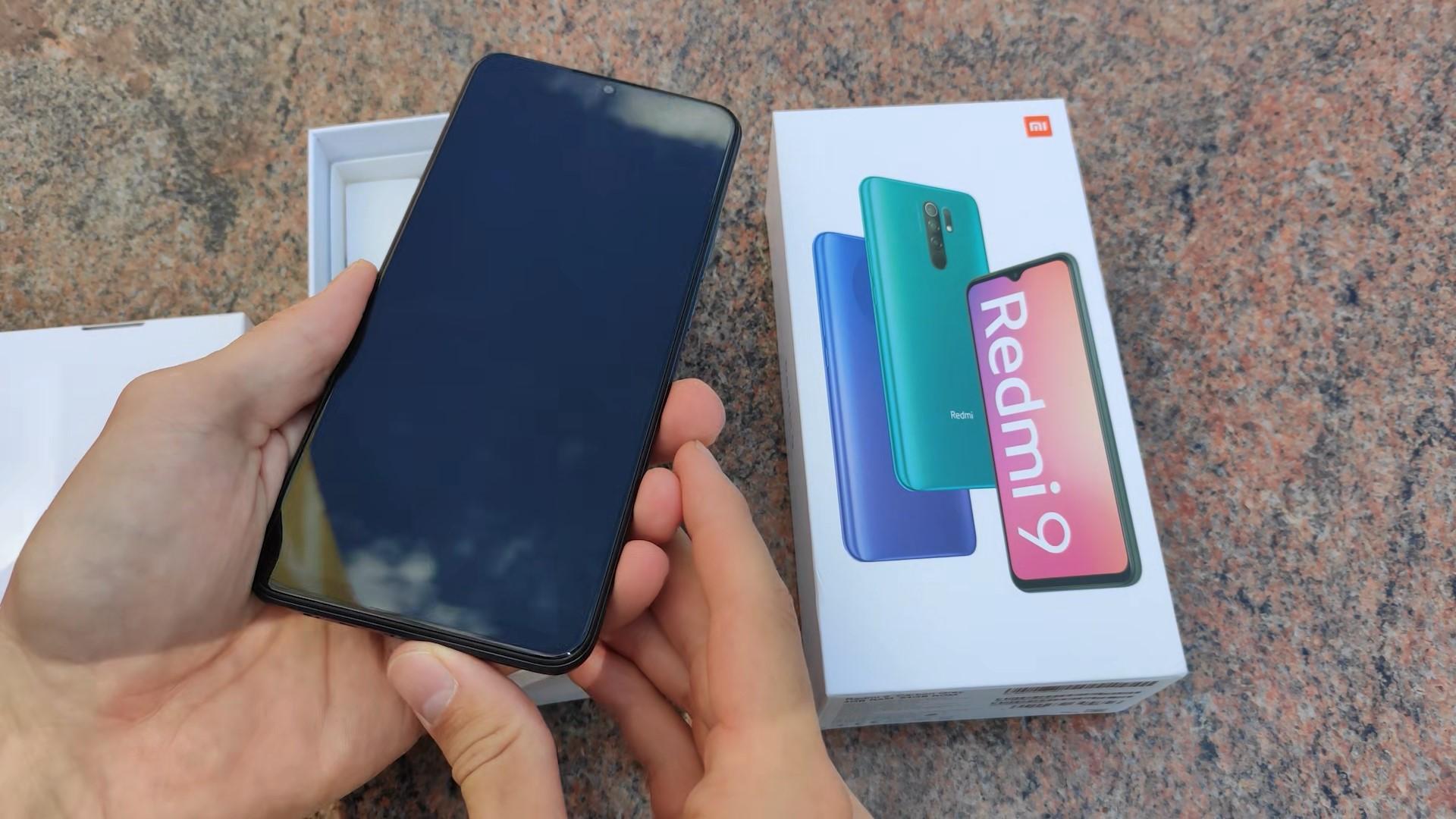 смартфон Redmi 9 с плёнкой