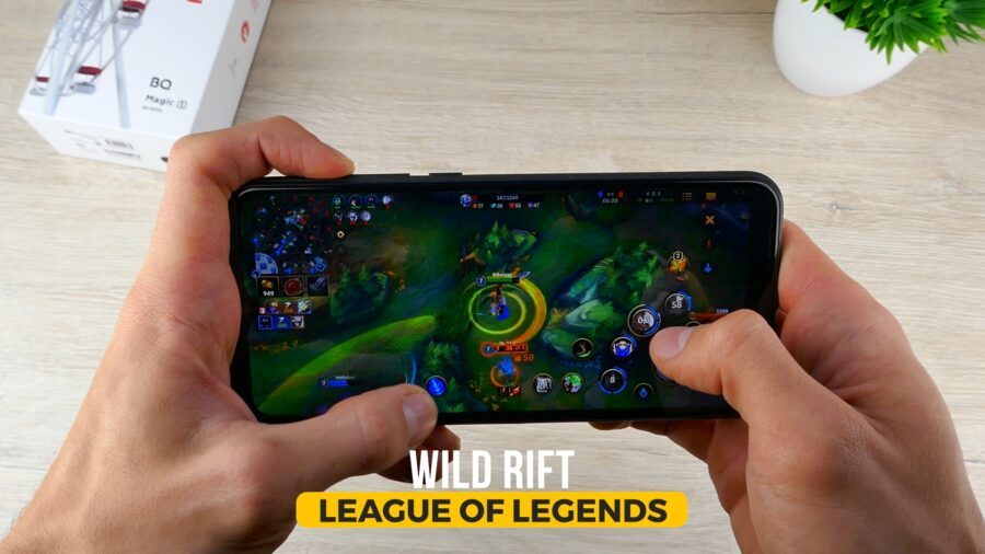 BQ Magic L игры Wild Rift LoL