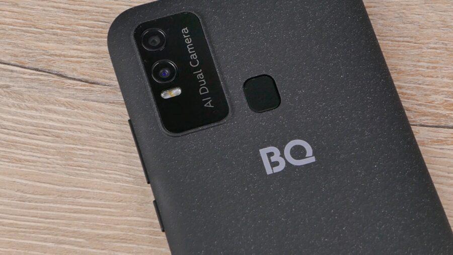 BQ Magic L задняя крышка и камеры