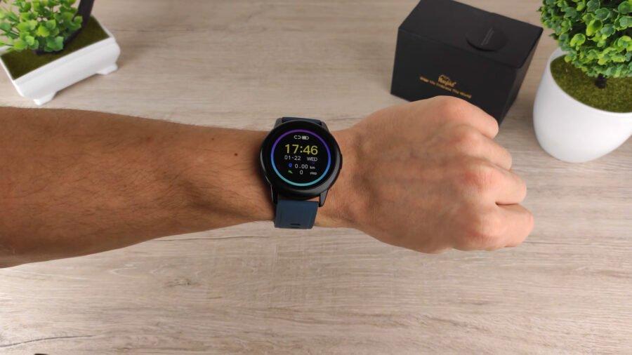 Rogbid GT 2 смарт часы дизайн вид на руке