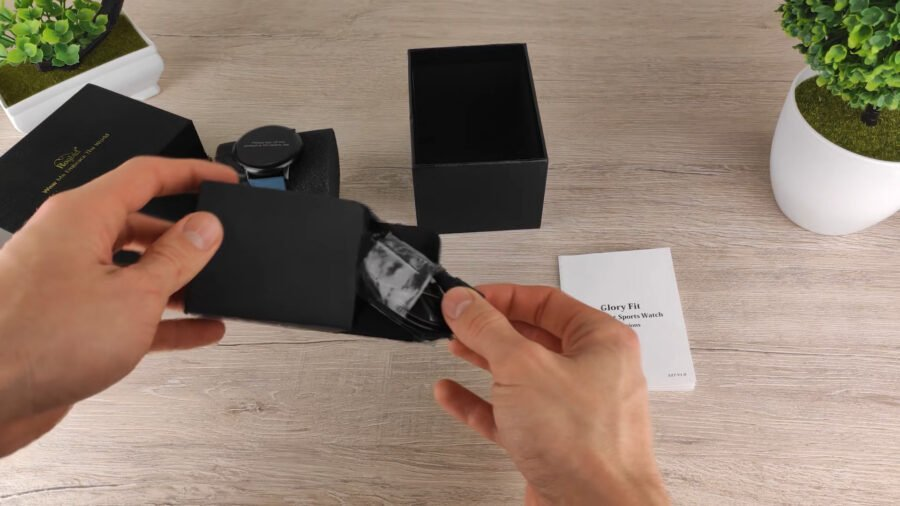 Rogbid GT 2 смарт часы комплектация магнитная зарядка
