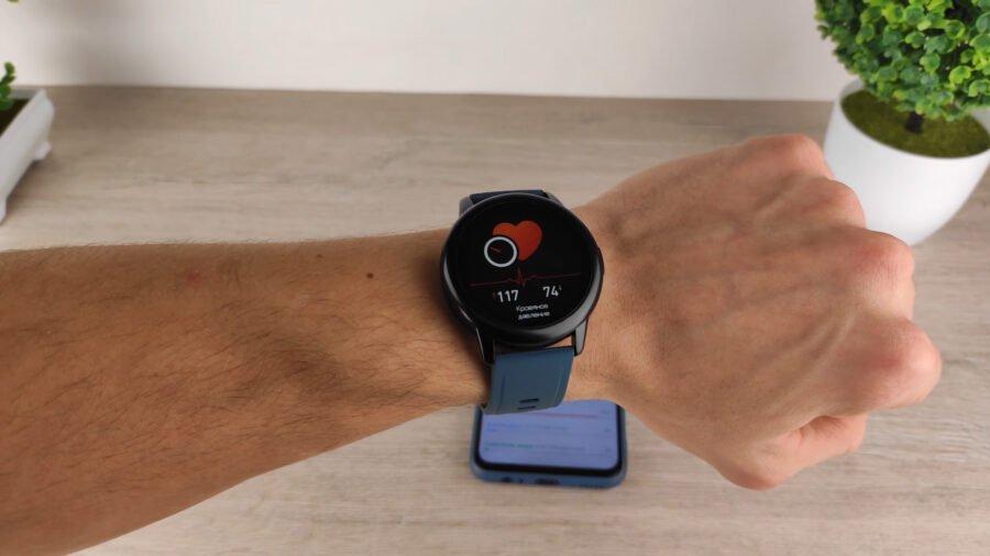 Rogbid GT 2 смарт часы тонометр меряет артериальное давление