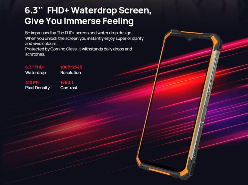 doogee s88 plus дисплей экран
