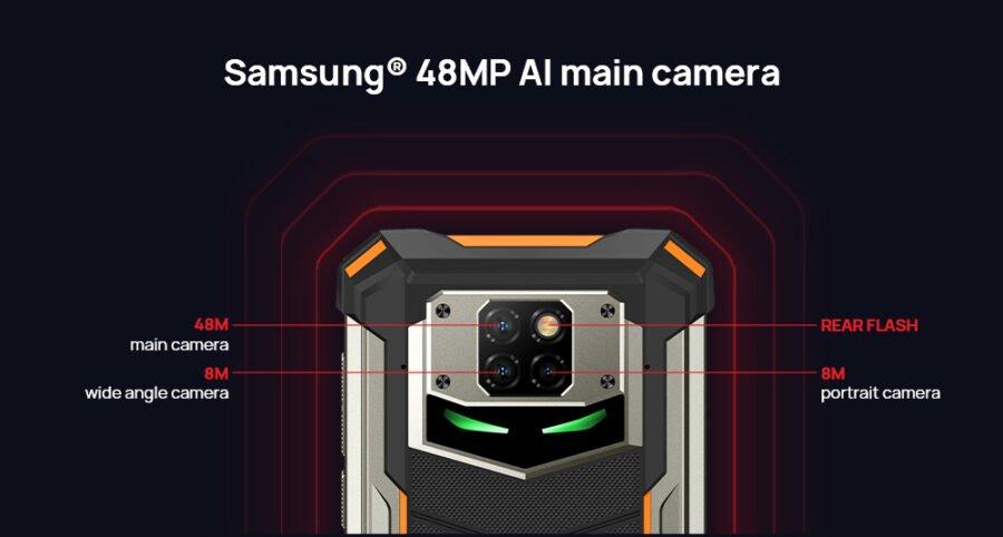 doogee s88 plus камеры