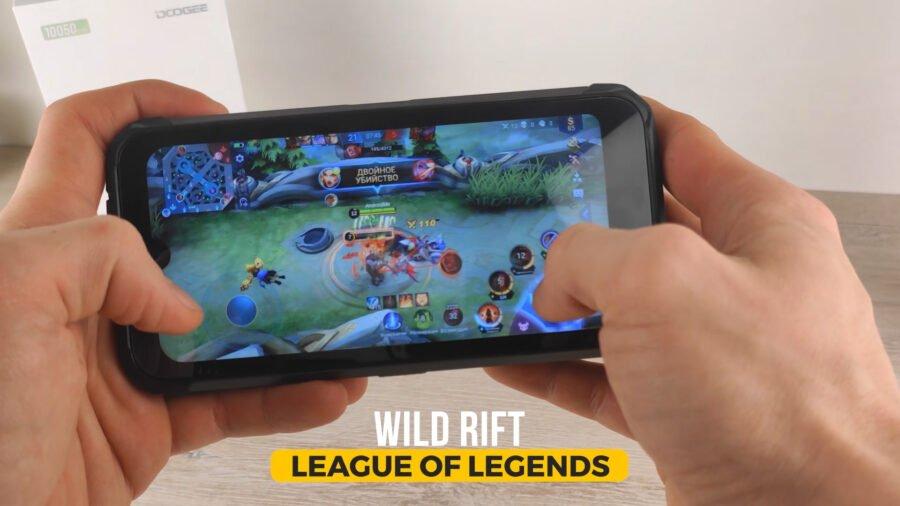 Doogee S59 Pro - Mobile legends игры геймплей