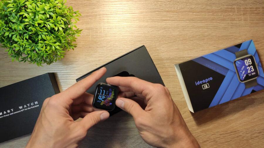 IdeaPro i8 смарт часы комплектация часы