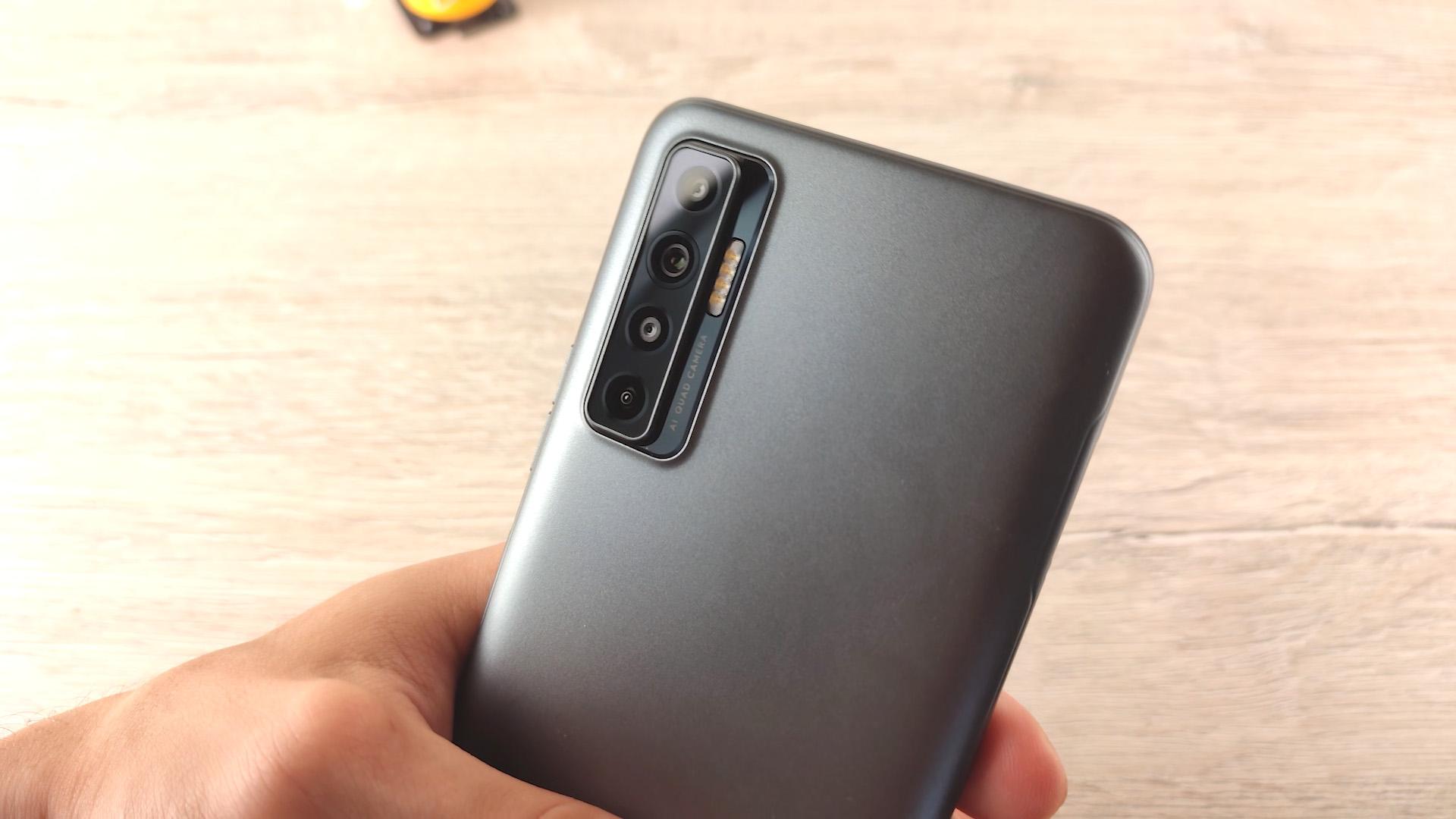 Обзор смартфона Tecno Camon 17P камера