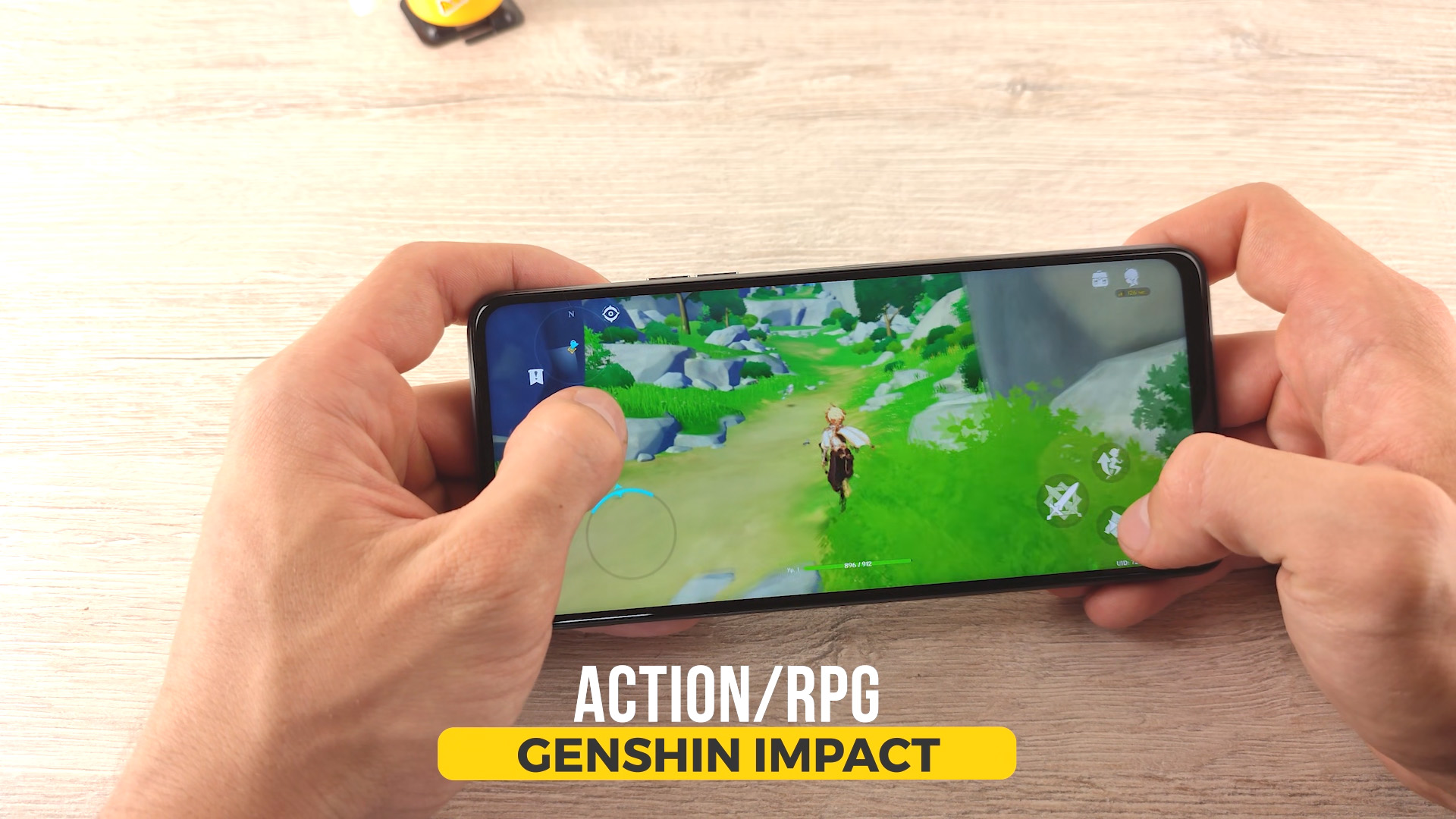 Tecno Camon 17P геймплей gameplay genshin impact геншин импакт