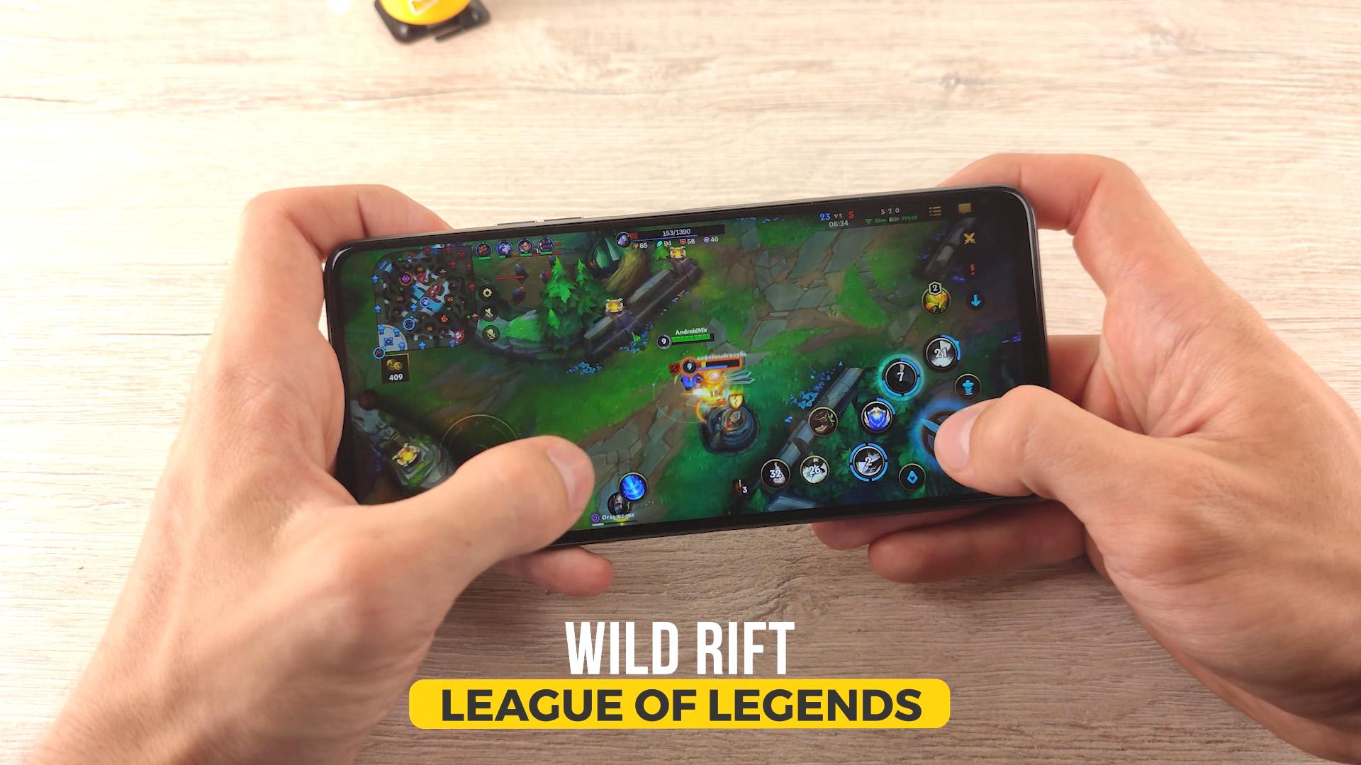 Tecno Camon 17P геймплей gameplay lol league of legends wild rift вайлд рифт