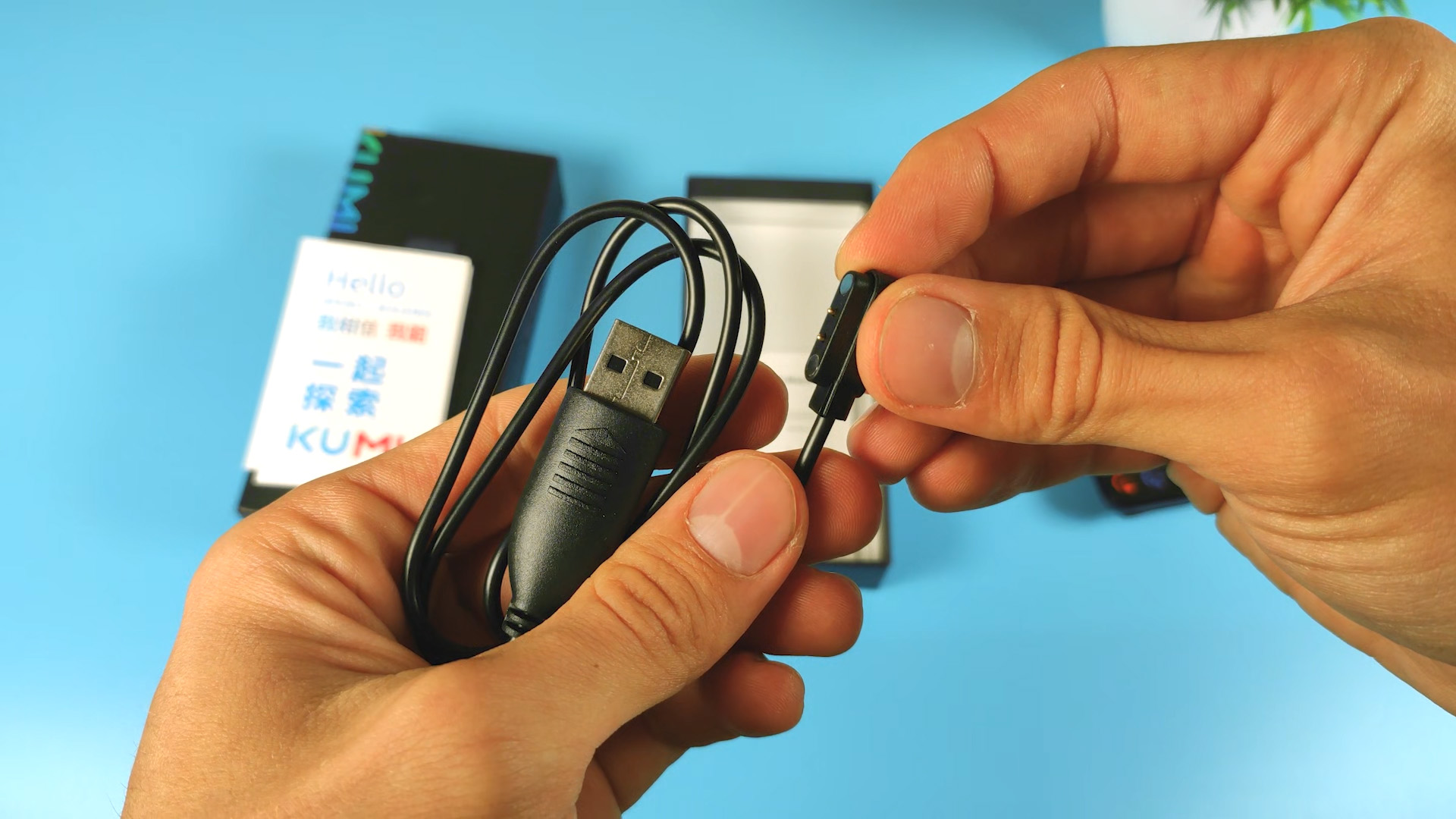 KUMI KU2 PLUS магнитный кабель для зарядки