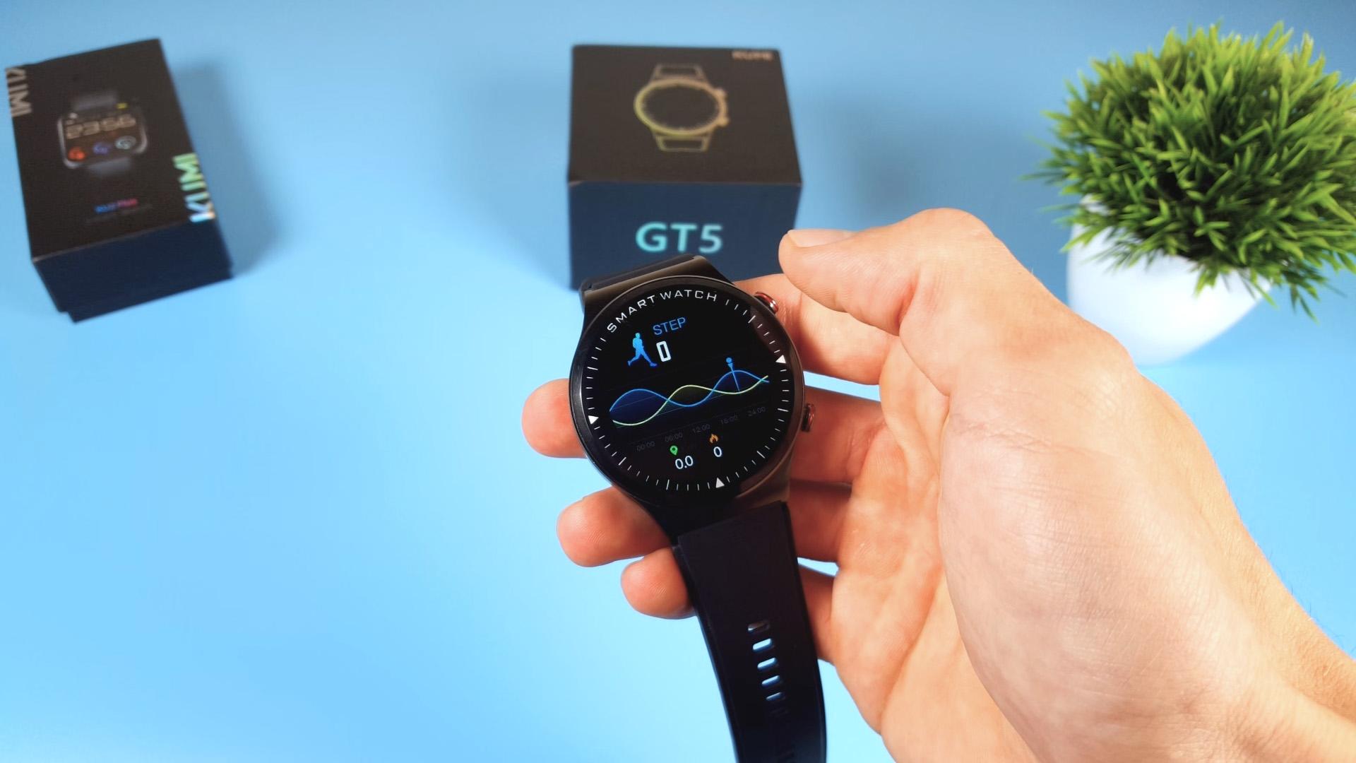KUMI GT5 шагомер